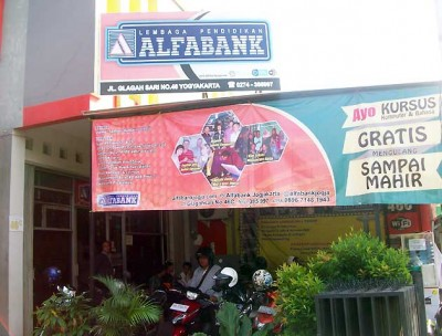 Lembaga Pendidikan Alfabank Jogjakarta