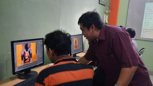Pelatihan Photoshop Komputer Grafis Alfabank Yogyakarta Dinas Koperasi UKM Nakertrans Jogja 3