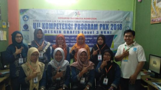 Uji Kompetensi TIK Desain Grafis Di TUK Alfabank Yogyakarta 2018 C