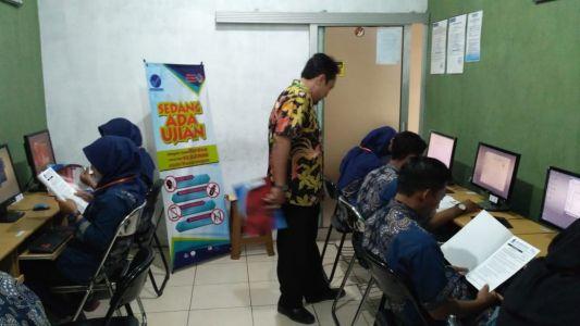 Uji Kompetensi TIK Desain Grafis Di TUK Alfabank Yogyakarta 2018 D