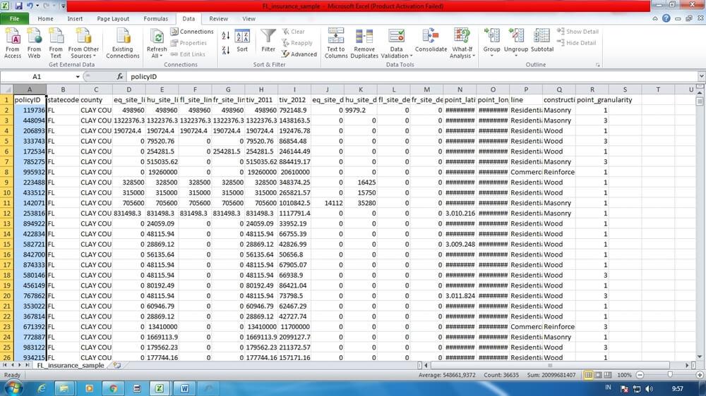 Cara membuka file CSV di Excel