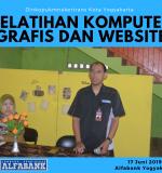 Pelatihan Komputer Grafis dan Website DINKOP UKMNAKERTRANS Yogyakarta