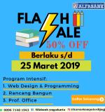 Flash Sale 50% Kursus Singkat Kerja diDapat Alfabank Jogja
