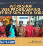 Workshop Web Programming staff BKPSDM Kota Sorong