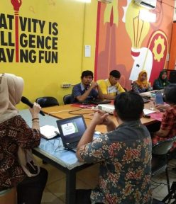 Workshop Digital Marketing LPK kerjasama dengan Diskopukmnakertrans