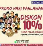 Promo Hari Pahlawan Nasional | Alfabank Yogyakarta