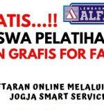 PELATIHAN DESAIN GRAFIS FOR FASHION GRATIS !!