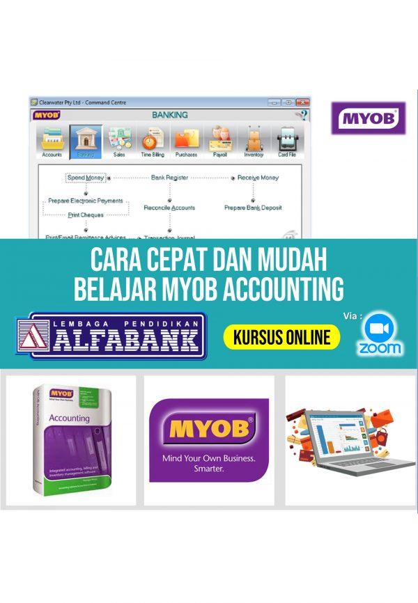 Kursus Online Komputer Akuntansi MYOB Accounting
