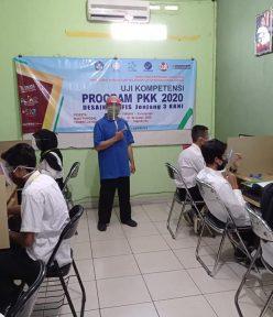 Uji Kompetensi Desain Grafis LKP POPBAYO Kulon Progo di TUK TIK Alfabank Yogyakarta