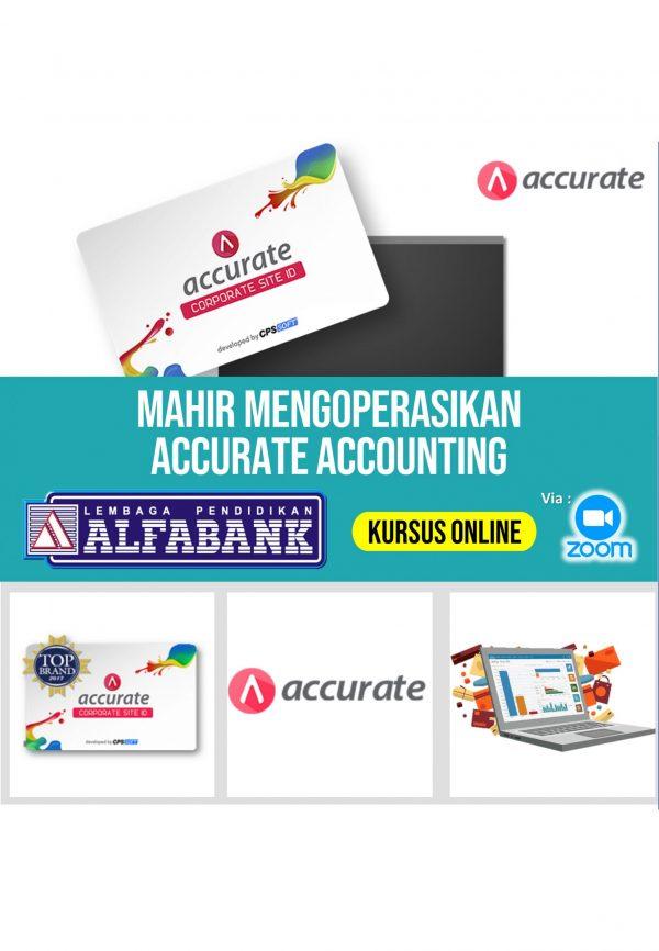 Kursus Online Komputer Akuntansi Accurate Accounting
