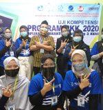 Uji Kompetensi Program PKK 2020 Aplikasi Perkantoran LP3I Yogyakarta